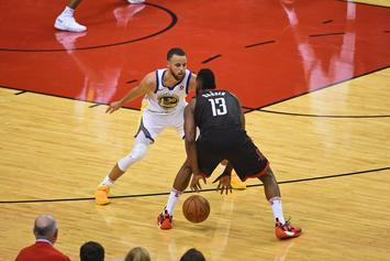 """James Harden Unfazed By Shooting Woes: """"Who Cares? We're Winning"""""""