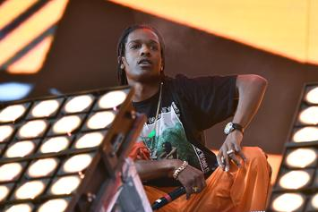 """A$AP Rocky & Skepta Perform """"Praise The Lord""""  In The Streets"""