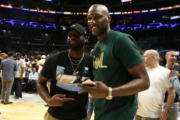 "Lamar Odom Lists Himself Next To Jordan & LeBron On ""NBA Dream Lineup"""