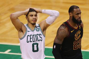 "LeBron James Says Jayson Tatum Is ""Built For Stardom"" After Poster Dunk"