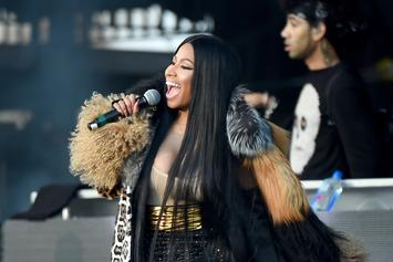 "Nicki Minaj Shares Behind The Scene Footage Of ""Chun-Li"" Recording Session"