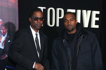 "Watch Chris Rock's Intro To Kanye West's ""Ye"" Album Listening Party In Wyoming"