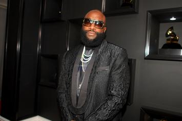 Rick Ross Flexes His Boxing Skills In The Gym With Adrien Broner