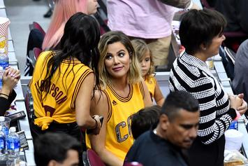 Khloe Kardashian Enjoys VIP Treatment At Game 3 As She Supports Tristan Thompson