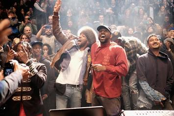 "Livestream Kanye West & Kid Cudi's ""Kids See Ghosts"" Listening Session"