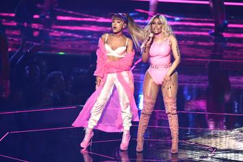 Nicki Minaj & Ariana Grande Make A Special Request In New Instagram Clip