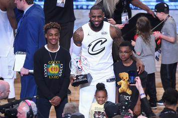 "LeBron Says ""Greatest Achievement"" Would Be Playing With His Son In NBA"
