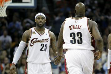 Shaquille O'Neal Warns Lebron James Against Chasing Championships
