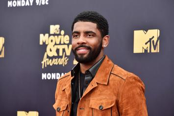 Kyrie Irving & Chantel Jeffries Spotted On Movie Date