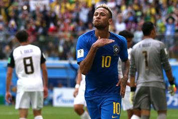 Neymar Cusses Out Costa Rican Player's Mom During World Cup Win