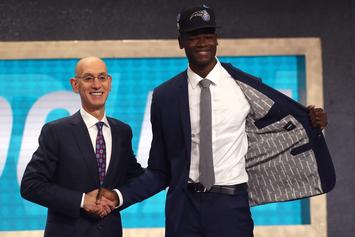 "Mo Bamba Turns Up To Sheck Wes ""Mo Bamba"" After Being Drafted 6th Overall"