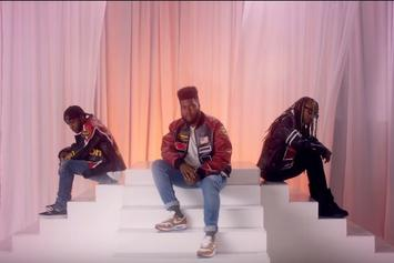 "Khalid Jams With Ty Dolla $ign & 6LACK In ""OTW"" Video"