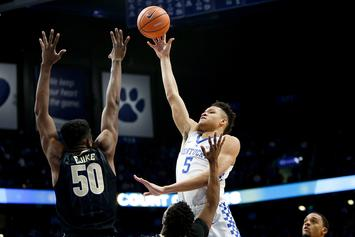 "Knicks' Kevin Knox Earns Rave Reviews Around NBA: ""He's F--king Really Good"""