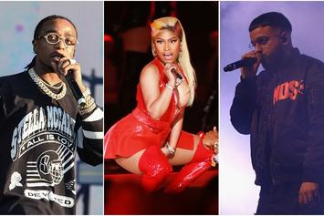 "Top Tracks: Nicki Minaj & Quavo's Remix of Ella Mai's ""Boo'd Up"" Hits #1"