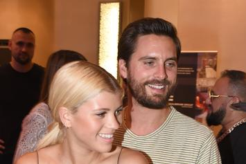 Scott Disick Shows Off Sofia Richie's Booty In Greece