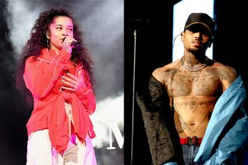 """Chris Brown Teases Collaboration With """"Boo'd Up""""s Ella Mai"""