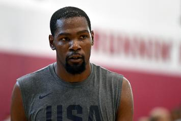 """Kevin Durant Thinks The Media Is Out To Get Him: """"Y'all Trying To Make Me Look Crazy"""""""