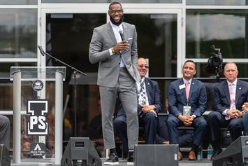 LeBron James Says Donald Trump Is Using Sports To Divide Us