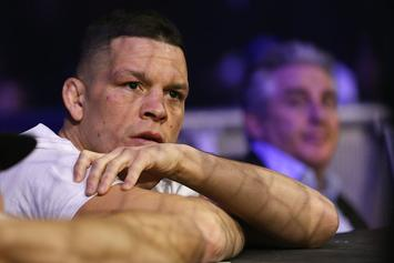 """Nate Diaz Might Forego UFC 230: """"I Don't Want To Fight Anyone"""""""