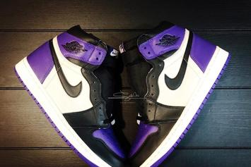 "Air Jordan 1 ""Court Purple"" Release Date, New Images Revealed"