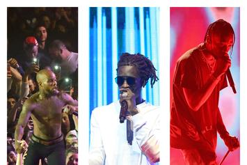 """Young Thug Shares This Week's """"FIRE EMOJI"""" Playlist With Travis Scott and Tory Lanez"""
