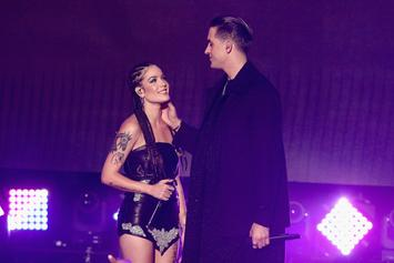 Are Halsey & G-Eazy Back Together? Duo Leave VMA Afterparty Holding Hands