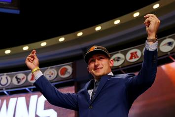 """Johnny Manziel, Kevin Hart Talk College Life & More On """"Cold As Balls"""""""