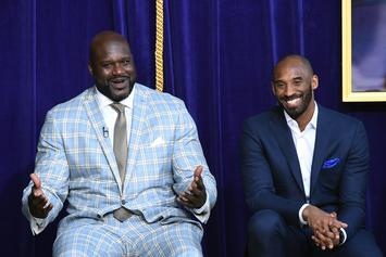 Kobe Bryant Offers To Train Shaq's Youngest Son, Shaqir O'Neal