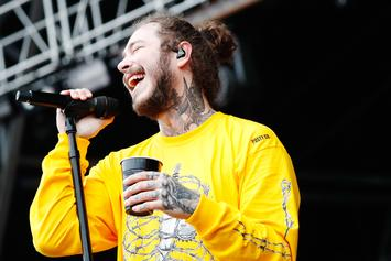 """Post Malone Copped A New Car After Totalling His Last Whip: """"Bigger"""" & """"Funner"""""""