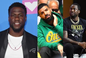 "Kevin Hart Was Caught In Between Drake And Meek Mill's Beef: "" I Tried My Best"""