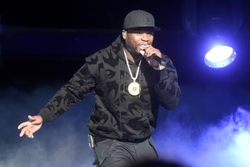 """50 Cent Roasts Safaree's """"Belly Dancer"""" Photo: """"This How N***as Look After Nicki Leave"""""""