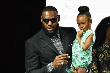 """LeBron Unfazed By Trump Insults: """"That's Like Saying I Can't Play Ball"""""""