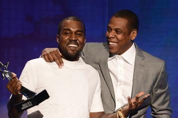 "Kanye West Continues To Tease ""Watch The Throne 2"" With Jay-Z & Beyonce Picture"