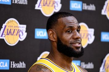 "LeBron James Gives Lakers' Bench Nickname ""MUD"""