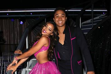 "Tinashe Stunned On ""Dancing With The Stars,"" Posting Highest Score Of The Night"