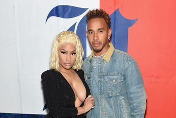 Nicki Minaj Pretty Much Confirms Rumors Of Her New Boo Being Lewis Hamilton