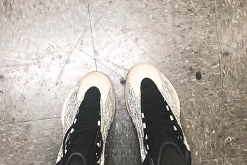 Kanye West Shows Off New Yeezy Basketball Sneaker