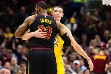 LeBron James Wowed By Lonzo Ball's Speedy Recovery From His Knee Injury
