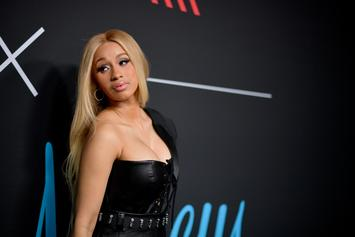 "Cardi B Celebrates Becoming The First ""Female Rapper"" To Top Spotify's Global 50"
