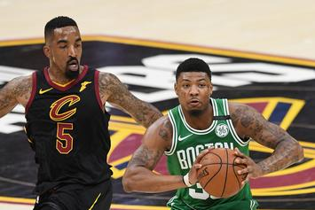 """Marcus Smart Challenges JR Smith To A Fight: """"Ain't No Punk Right Here"""""""