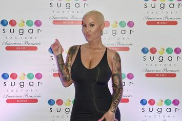 "Amber Rose Lets 5-Year-Old Son Curse Because It's A ""Form Of Expression"""