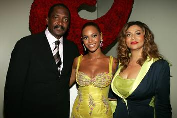 "Beyonce's Dad Surprised Her Backstage During ""On The Run 2"" Finale"