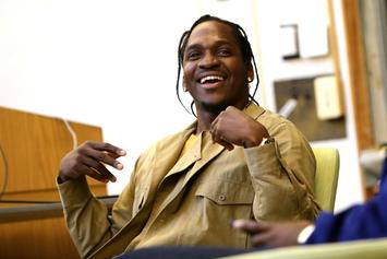 "Pusha T Laughs About Drake Saying ""Someone"" Should Punch Him Over 40's MS Line"