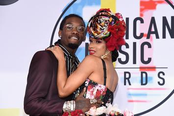 """Offset Throws Surprise Party For Cardi B's Birthday: Watch The """"Then BOOM!"""" Clip"""