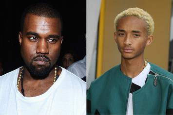 """Kanye West Dubs Jaden Smith's """"ICON"""" His """"Favorite"""" Despite Their Fallout"""