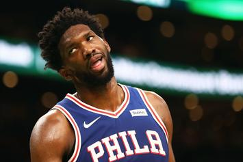 Joel Embiid Dating Sports Illustrated Swimsuit Model Anne de Paula