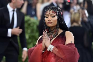 """Nicki Minaj On Fan's Comment About Suing Cardi B And Her Sister: """"To God Be The Glory"""""""
