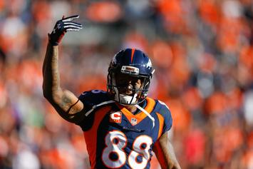 "Broncos' Demaryius Thomas Says It's ""50-50"" He'll Be Traded"