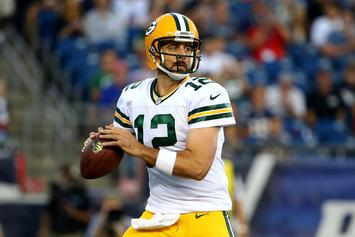 """Aaron Rodgers Enraged By Ty Montgomery's Fumble: """"Take A F***ing Knee!"""""""
