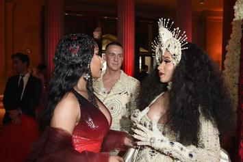 Nicki Minaj & Cardi B Call A Truce After A Day Of Intense Online Feuding